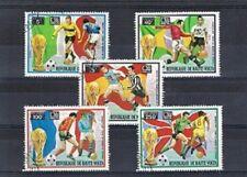 Serie voetbal / football (09) WK 1974 - Opper Volta
