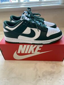 Size 10.5 - Nike Dunk Low Retro Varsity Green Michigan State SKU: DD1391-101