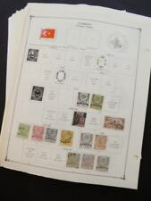 EDW1949SELL : TURKEY Very clean Mint & Used collection on album pages. Cat $1490