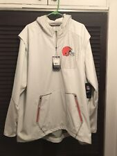 Cleveland Browns Nike Vapor Speed Fly Rush Jacket White Size 3xl NWT