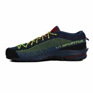 La Sportiva Mens TX 2 Walking Shoes - Blue Yellow Sports Breathable Lightweight