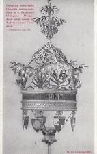 C159) BOLOGNA, SANTE MINGAZZI FERRO BATTUTO, LAMPADA VOTIVA IN S. FRANCESCO.