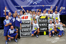1:12 Pit board - pitboards Rossi Lorenzo World Champion Team 2008 to minichamps