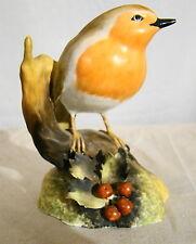 Royal Crown Derby Bone China Robin Bird Figurine
