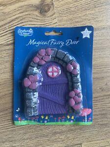 New Magical Fairy Door Secret Garden Elf/ Pixie Door Pink Purple