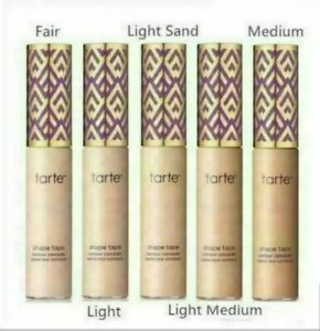 Tarte Shape Tape Contour Concealer - Fair -Light- Light sand-Light-Medium-Medium
