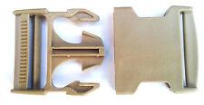 """Nexus Side Release Buckle 50mm (2"""")  Coyote Tan Plastic Webbing Belt  (SR50)"""