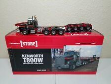 Kenworth T800W with 4-Axle Flip Lowboy - Mammoet - Sword 1:50 Model #410010 New!