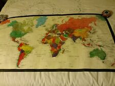 LIPTON TEA Map Poster of the World Mail-In premium from 1980s, early 1990s