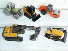 SIKU JOAL Bulldozer tracteur pelleteuse Volvo EC290C HAMM CLAAS shovel 1/43 1/50