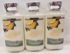 3 Sparkling Limoncello Body Lotion Bath & Body Works 8 Oz