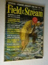 1970 FIELD & STREAM Magazine February issue Trout Fishing
