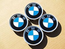 Set of 4 BMW used center caps
