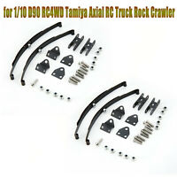 Metal Leaf Spring Suspension Bar for 1/10 D90 RC4WD Tamiya Axial RC Truck Rock