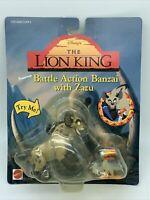 VTG Mattel Disney The Lion King Battle Action Banzai with Zazu Toy Action Figure