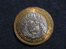"1994 Cambodia coin 500 Riels ""Royal Emblem"" uncirculated bi metal coin"