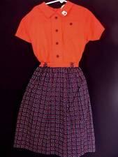 Sehr Selten Balance 591mS Mädchen Baumwolle Kleid Größe