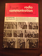 JAN 1977 RADIO COMMUNICATION MAGAZINE (RADCOM)