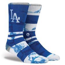 NEW STANCE SOCKS MLB LOS ANGELES DODGERS M556B16TLA BLU | BLUE Mens SMALL 3-5.5