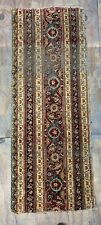 ca.1900 Wonderful Old Antique India Agra Fragment 5.7x2.2 Ft