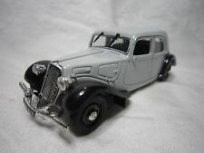 AD957 NOREV 1/43 CITROEN TRACTION 11 CV EDITION PRESSE BON ETAT