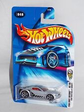 Hot Wheels 2004 First Editions #48 Ford Mustang GT Concept Silver w/ PR5s