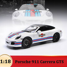 MARTINI Porsche 911 Carrera GTS Roadster - WSW 1:18 Scale Diecast Car Model