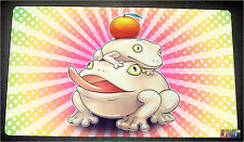 FREE SHIPPING Custom Yugioh Playmat Toadally Awesome Play Mat Frogs INOV-EN052