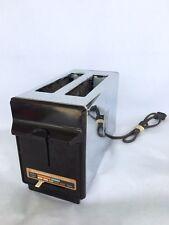 Vintage Retro Toastmaster 2 Slice Pop-Up Toaster Chrome B705C 850W Works