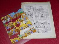 [ Bd ] Marciales / TONY LAFLAMME Volapük Lámina Colores Celuloide Genuino 1974