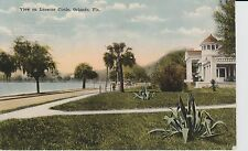 Early 1900's The View on Lucerne Circle in Orlando, Florida PC