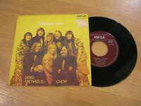 """7"""" Single Gerd Michaelis Chor Dieses Jahr Vinyl Schallplatte AMIGA DDR 456021"""