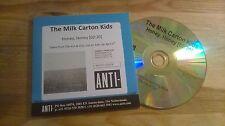 CD Pop Milk Carton Kids-Honey, honey (1 Song) Promo Anti- Rec CB