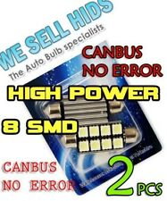 CANBUS LED 42mm 5050 SMD No Error 8 C10W 264 SV8 DOME PHESTOON INTERIOR LIGHT