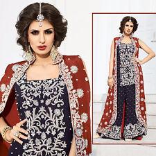 latest indian bollywood designer pakistani style short salwar kameez with plazo