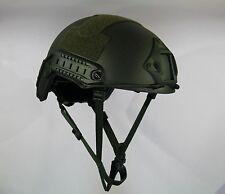 LVL IIIA Ballistic KEVLAR Helmet- Arma-Core Green AOR DEVGRU MICH-fast shipping!