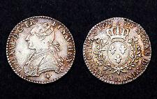 1/10 Écu 1778 A, Aux Buste Habillé. Louis XVI. Argent. SPL. Cote SUP: 250-300€