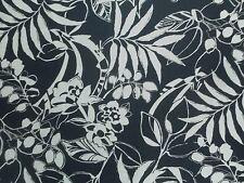 Ralph Lauren Curtain Fabric WESTINGHOUSE FLORAL 3.6m Navy Blue Design 360cm