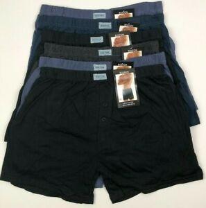 6 Pack Mens Cotton Underwear Boxer Trunks Undies Panties Underpants Boxer Shorts