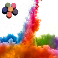 Photography Aid Tool Toy Props Round Bomb Smoke Cake Colorful Smoke Effect Show