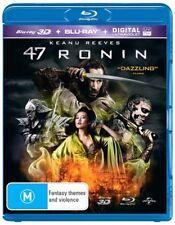 47 RONIN (Blu-ray 3D + Blu-ray, 2014) 🍿 [BRAND NEW & SEALED]