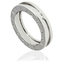 bvlgari bzero1 18k white gold 1band ring size 575