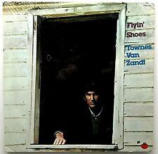 "TOWNES VAN ZANDT ""Flyin' Shoes"" RARE Vinyl LP - Original 1978 Tomato First Press"