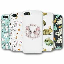 For iPhone 5 5S Silicone Case Cover Rabbit Collection 3