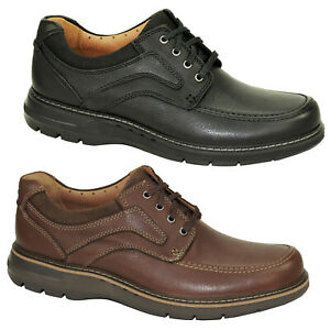 Clarks Unstructured Ramble Lace Low Shoes Men Lace Up Ultra Light