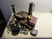 joli lot d objets de vitrine brocante collection
