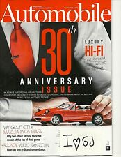 Automobile April 2016 30th Anniversary Issue Car Audio Systems Free Fast SnH !!
