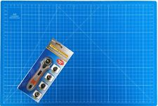 Schneidematte A3 + Rollmesser 5 Schichten! selbstheilend Schneideunterlage