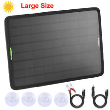 Waterproof 50W Solar Panel 12V Trickle Battery Charger Kits For Car Boat Marine