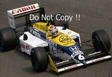Nelson Piquet Williams FW11B ganador italiano Grand Prix 1987 fotografía
